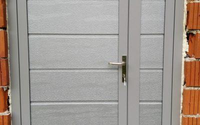 Dvokrilna garažna vrata – Apače
