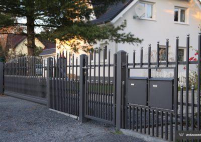 Slika prikazuje ograjni sistem Premium, promocija