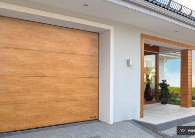 Slika prikazuje UniPro garažna vrata, promocija