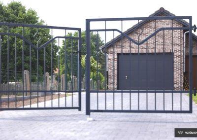 Slika prikazuje UniTherm garažna vrata, promocija