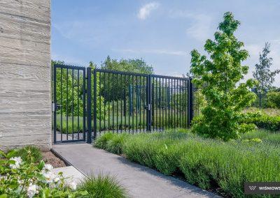 Bastion industrijska dvoriščna dvokrilna vrata - 1