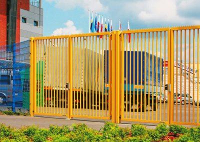 Bastion industrijska dvoriščna dvokrilna vrata - 10