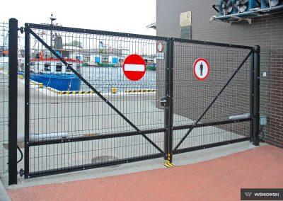 Bastion industrijska dvoriščna dvokrilna vrata - 11