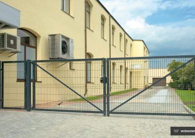 Bastion industrijska dvoriščna dvokrilna vrata - 12