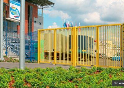Bastion industrijska dvoriščna dvokrilna vrata - 13
