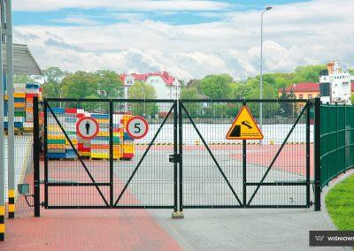 Bastion industrijska dvoriščna dvokrilna vrata - 14