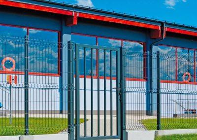 Bastion industrijska dvoriščna dvokrilna vrata - 15