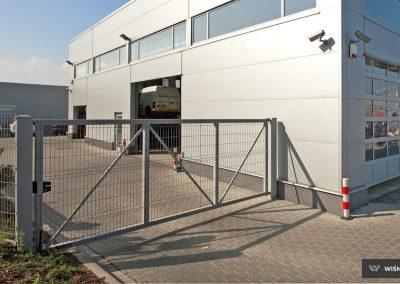 Bastion industrijska dvoriščna dvokrilna vrata - 16