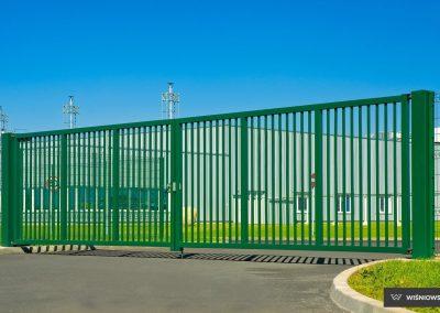 Bastion industrijska dvoriščna dvokrilna vrata - 18