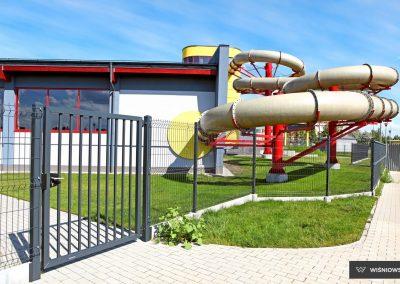 Bastion industrijska dvoriščna dvokrilna vrata - 20