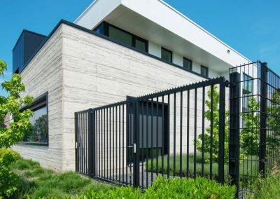 Bastion industrijska dvoriščna dvokrilna vrata - 3