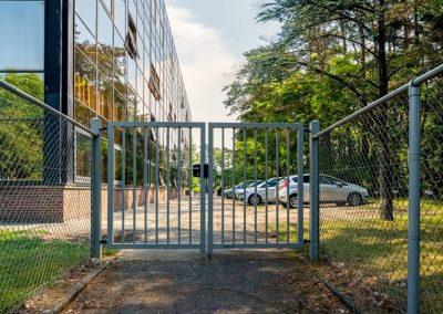 Bastion industrijska dvoriščna dvokrilna vrata - 4