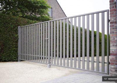 Bastion industrijska dvoriščna dvokrilna vrata - 5