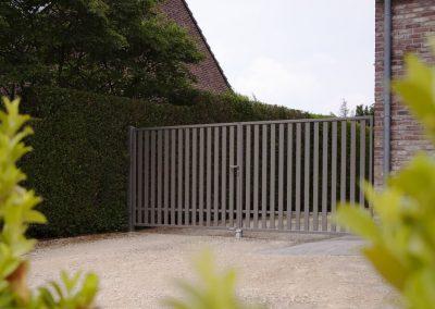 Bastion industrijska dvoriščna dvokrilna vrata - 6