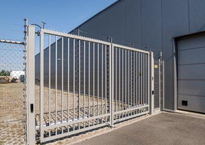 Bastion industrijska dvoriščna dvokrilna vrata - 7