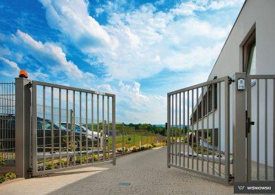 Bastion industrijska dvoriščna dvokrilna vrata - 8