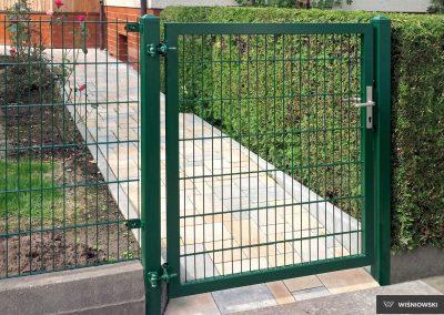 Slika prikazuje Gardia industrijska dvoriščna dvokrilna vrata