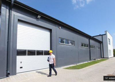 MakroPro INVEST industrijska sekcijska garažna vrata - 15