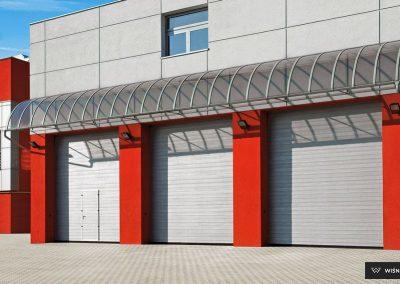 MakroPro INVEST industrijska sekcijska garažna vrata - 32