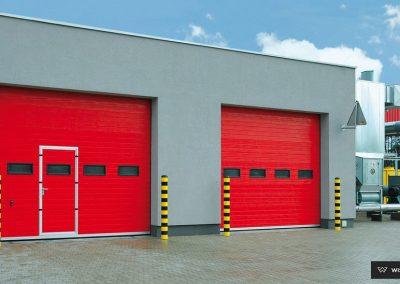 MakroPro INVEST industrijska sekcijska garažna vrata - 33