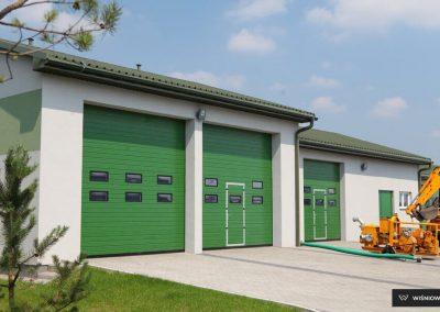 MakroPro INVEST industrijska sekcijska garažna vrata - 5
