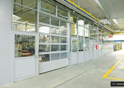 MakroPro INVEST industrijska sekcijska garažna vrata - 55