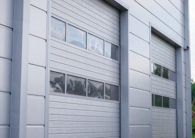 MakroTherm industrijska sekcijska garažna vrata - 2