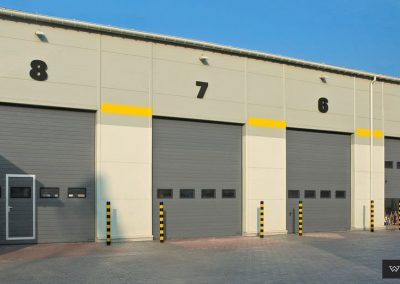 MakroTherm industrijska sekcijska garažna vrata - 25