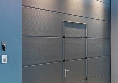 MakroTherm industrijska sekcijska garažna vrata - 45
