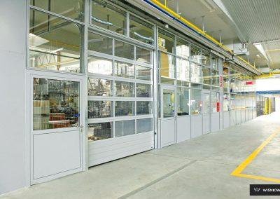 MakroTherm industrijska sekcijska garažna vrata - 55
