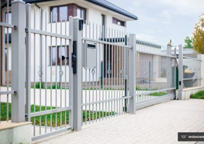 Slika prikazuje vzorec za ograjni sistem Style