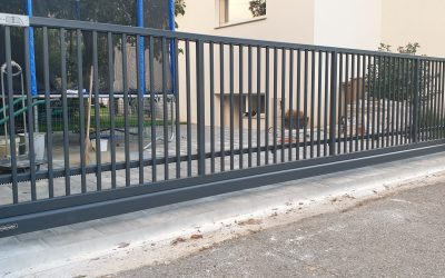 Drsna dvoriščna vrata Clasic system – Maribor