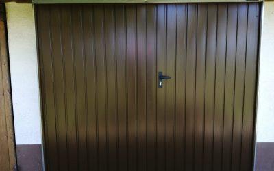 Dvokrilna garažna vrata – Nova Gorica