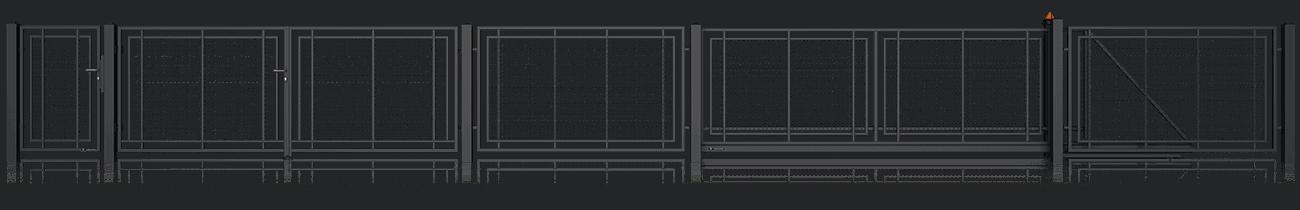Slika prikazuje vzorec AW. 10. 100