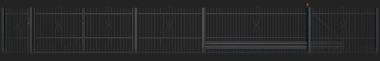 Slika prikazuje vzorec AW. 10. 91 iz kolekcije Basic