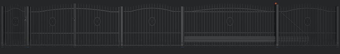 Slika prikazuje vzorec AW.10. 94 iz kolekcije Basic