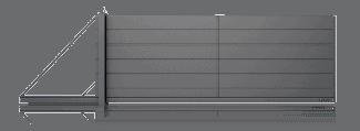 Slika prikazuje vrata Home inclusive z dvema paneloma