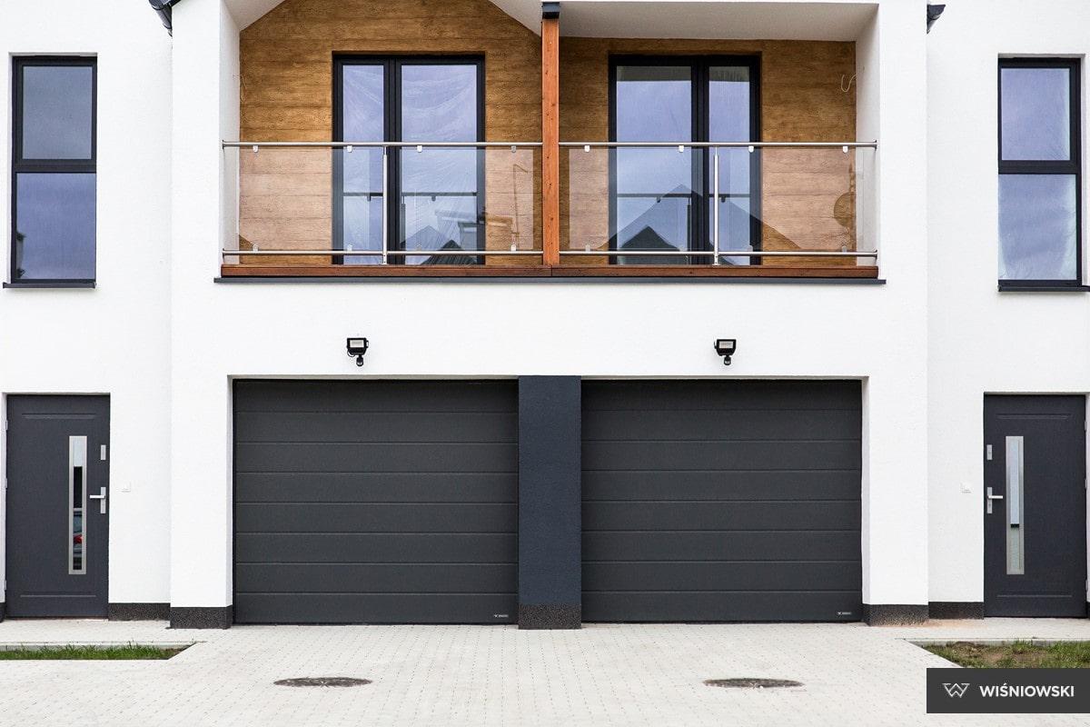 Slika prikazuje UniPro sekcijska garažna vrata