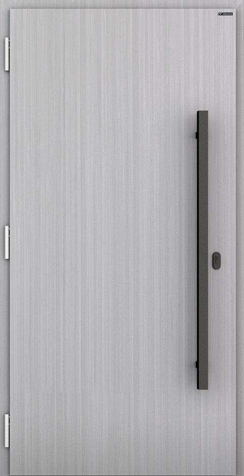 Slika prikazuje nova vhodna vrata, vzorec: 001