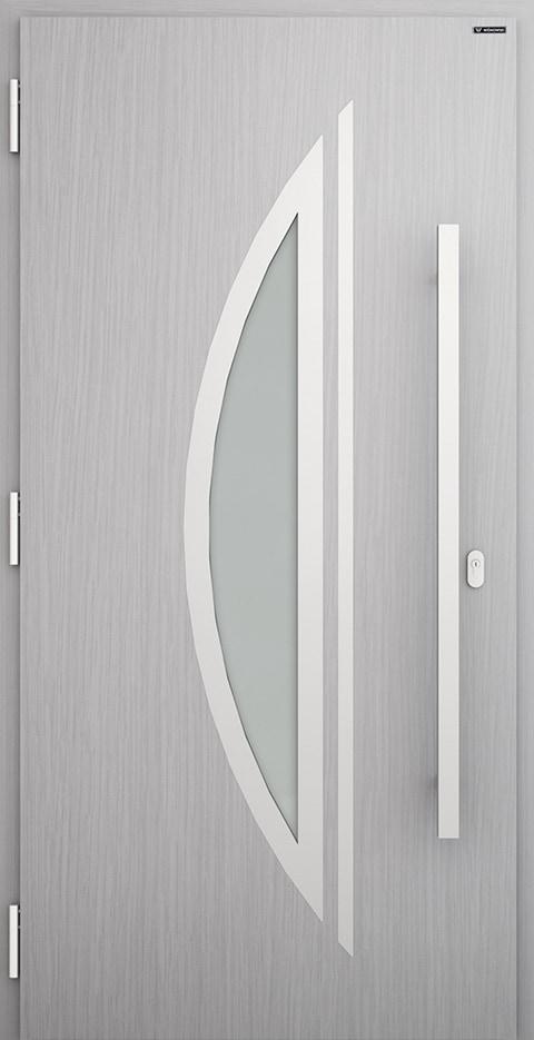 Slika prikazuje nova vhodna vrata, vzorec: 003