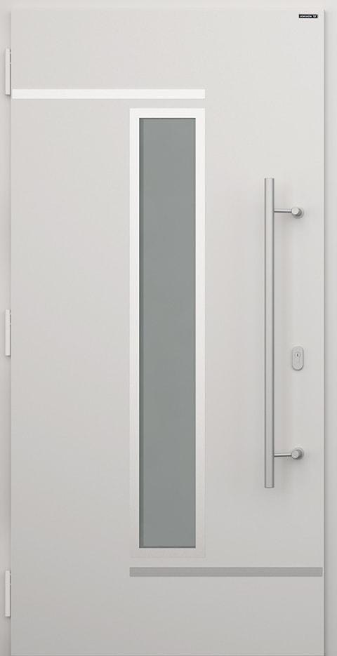 Slika prikazuje vhodna vrata Nova, vzorec: 005