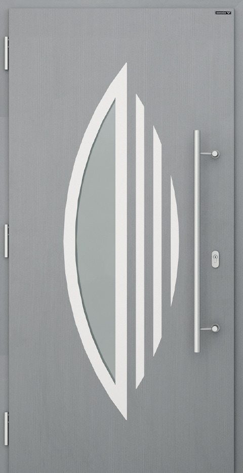 Slika prikazuje nova vhodna vrata, vzorec: 006