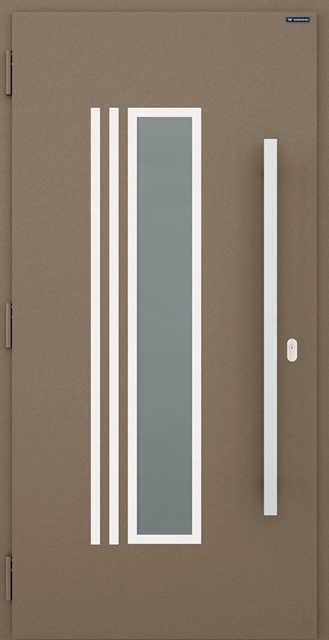 Slika prikazuje vhodna vrata, vzorec: 008