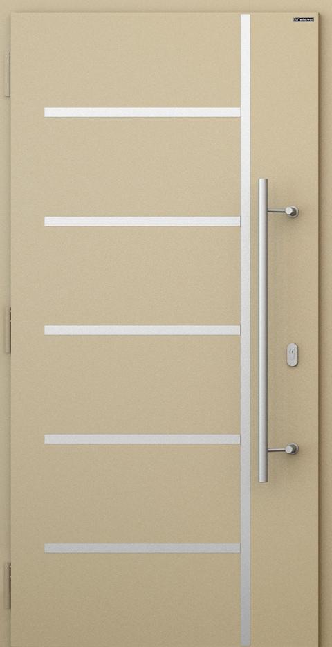 Slika prikazuje vhodna vrata Nova, vzorec: 010