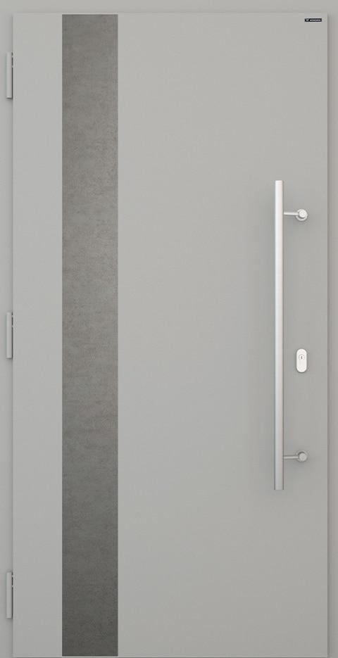 Slika prikazuje nova vhodna vrata, vzorec: 014