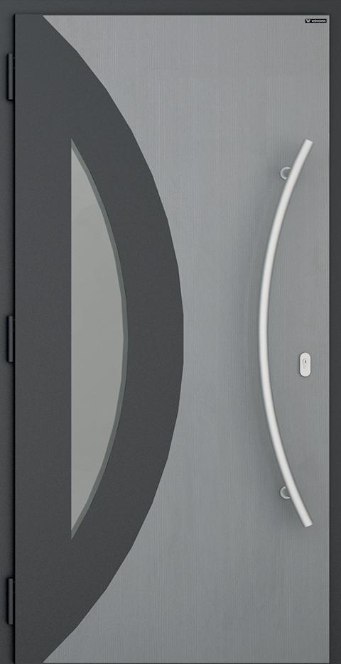 Slika prikazuje nova vhodna vrata, vzorec: 017