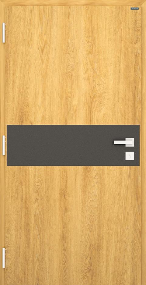 Slika prikazuje nova vhodna vrata, vzorec: 022