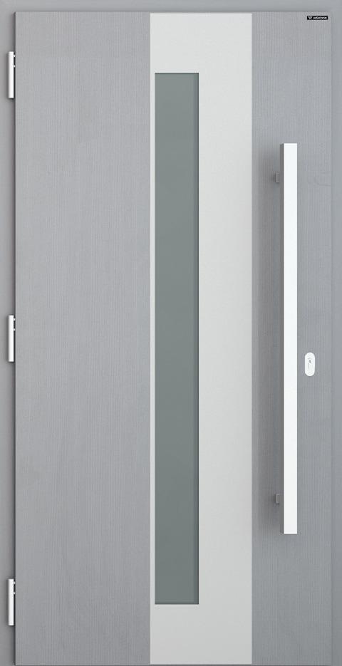 Slika prikazuje nova vhodna vrata, vzorec: 023