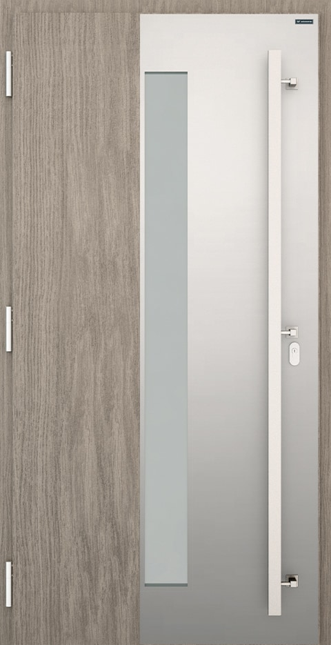 Slika prikazuje nova vhodna vrata, vzorec: 024