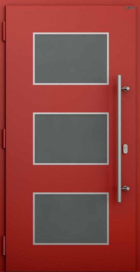 Slika prikazuje nova vhodna vrata, vzorec: 027